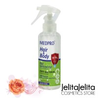 MEDPRO HAIR AND BODY SANITIZING SPRAY 250ML / DISINFECTANT TUBUH