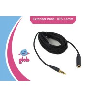 KABEL Extension 3.5mm Male to Female TRS Audio Microphone Headphone