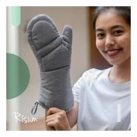 Oven Glove Ash Grey