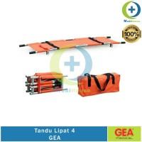 Tandu Lipat 4 GEA Aluminium Folding Stretcher Tandu Emergency