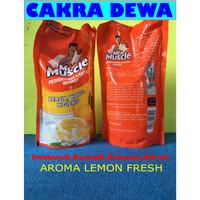 Mr Muscle Pembersih Lantai AROMA lemon refill 800 ml