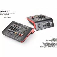 Power Mixer Ashley Studio-4 Original 4Ch Usb Bluetooth
