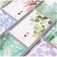 Buku Tulis A5 Buku Notes Notebook Spiral Gambar Halaman Polos