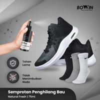 Bowin Activ Spray - Semprotan Penghilang Bau Kaki/Bau Sepatu Kaos kaki - Natural Fresh