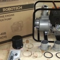 water pump 4inch mesin gx390 merk Robotech