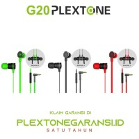 PLEXTONE G20 Hammering Magnet In-Ear Earphone Headset Gaming
