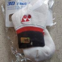 Yonex 3D Ergo Socks White Original Kaos Kaki Badminton Tenis
