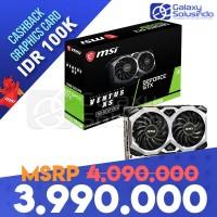 VGA MSI NVidia GeForce GTX 1660 SUPER Ventus XS 6GB OC GDDR6
