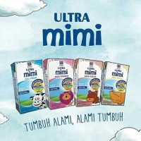 Susu ultra MIMI Uht 125 ml (40 pcs)