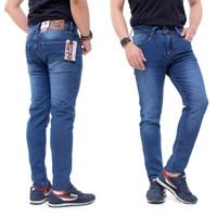 Celana jeans panjang pria skinny/slimfit DE JAVACHE JEANS size 27 - 38