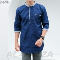 Baju Koko Pakistan / Baju Koko / Kurta Oxfort Denim