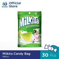 MILKITA CANDY MELON BAG PREMIUM LOKAL 30 pcs X 4 g
