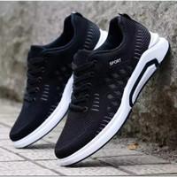 Sepatu sneakers pria sport ZIGMEN terbaru