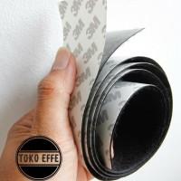 Velcro Doubletape Pedalboard 3M Loop Halus Lebar