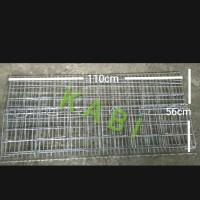 Kandang Baterai Ayam Petelur 110cm 6 pintu