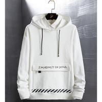 RisRus Sweter ADMIT battle hoodie sweater cewek/cowok basic sweater