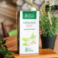 Australia's Own Organic Soy Milk (Unsweetened) - 1 L