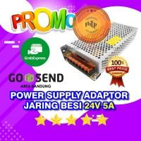 POWER SUPPLY JARINGIN ADAPTOR 24V 5A SWITCHING 5 Ampere 24 Volt DC