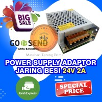 POWER SUPPLY JARINGAN ADAPTOR 24V 2A SWITCHING 2 Ampere 24 Volt DC