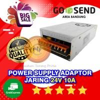POWER SUPPLY JARINGIN ADAPTOR 24V 10A SWITCHING 10 Ampere 24 Volt DC
