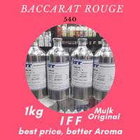 Grosir Bibit Parfum IFF Baccarat Rouge Original, Segel dan Murah