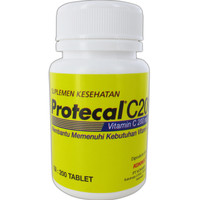 PROTECAL C200 isi 200 Pcs Protecal Vitamin C 200 Tablet Vit C 200mg