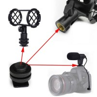 Hot Cold Shoe Mount Screw Adapter 1/4 5/8 Tripod Camera connector