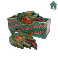 Coaster, Tatakan Kayu Batik Model Karakter