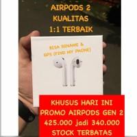 Airpods 2 Apple Mirror Clone 1:1 Pop Up Gen 2 Headset Bluetooth Rename