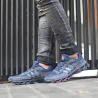 Sneakers running adidas springblade sport sepatu import pria
