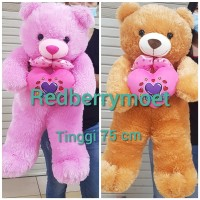 boneka teddy bear LOVE / tedy bear love