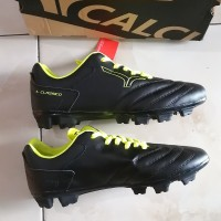 Sepatu Bola CALCI EPIC 2 SC BLACK / NEON