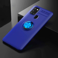 Casing Autofocus Ring Magnetic Case Samsung Galaxy A21S