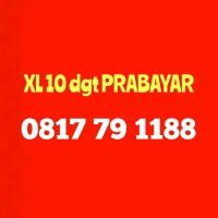 Nomor Cantik XL Kartu Perdana Nomer 10 digit 188 PRABAYAR 0817 79 1188