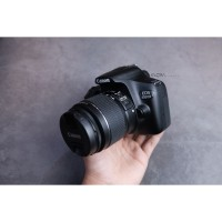 Canon 1300d Kit 18-55mm IS II mulus murah