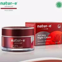 Natur E advanced anti aging night cream