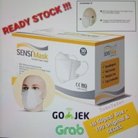 Masker Sensi Mask Duckbill Face Mask 3-ply Original