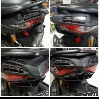 Ductail Ducktail Cover Cover Lampu Belakang New Nmax 2020