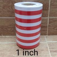 Pita merah putih 1 inch