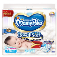 MamyPoko Royal Soft S80 Tape/Perekat
