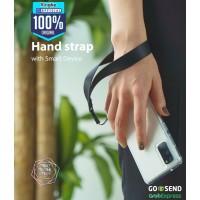 Ringke Nylon Hand Strap Tali Gantungan Wrist HP USB Camera Black