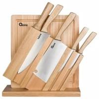 pisau set oxone wooden handle ox-95