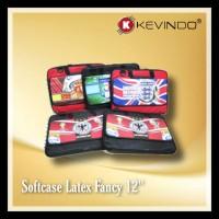 "Softcase Laptop 12"" Latex Fancy KEVINDO"