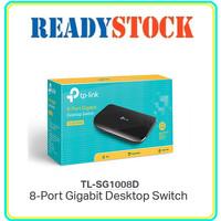 TPLINK TL-SG1008D Switch 8 Port Gigabit Plastik