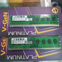 Ram V-Gen DDR3 4Gb Pc 10600 1333Mhz
