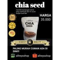 chiaseed 250gram/chia seed 250gr/cia seed/mexico/organic/organik/ori