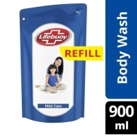 LIFEBUOY BODY WASH MILD CARE 900 ML REFILL /SABUN MANDI CAIR LIFEBUOY