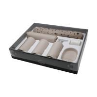 INFORMA - PERLENGKAPAN KAMAR MANDI - BATHROOM SET COLSON GREY SET OF 7