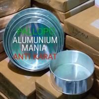 Loyang Kue Brownies Bolu Bulat Alumunium spesial /1 Set 5Pcs