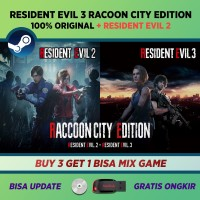 Resident Evil 3 Remake + RE 2 PC ORIGINAL Steam + Full DLC + UPDATE - Download